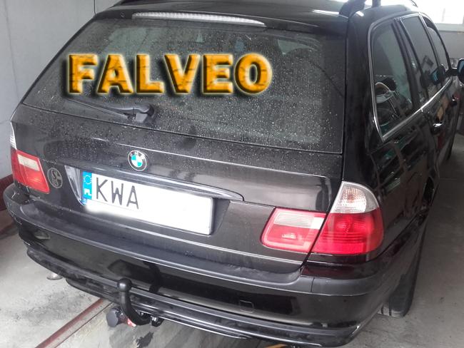 Hak Holowniczy Bmw E46 Seria 3 Sedan Kombi I Coupe 1998r 2005r Wiazka 7 Pin